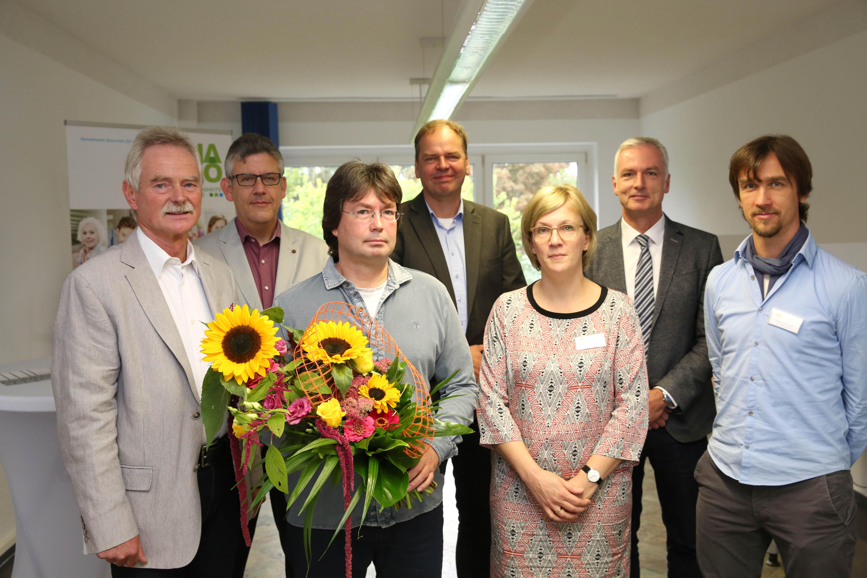 Blumen für den 15.000. Studienteilnehmer